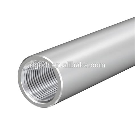 tubi filettati internamente stainless steel threaded and metal threaded