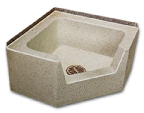drop in mop sink florestone mop sinks model 95 96 neo angle drop front