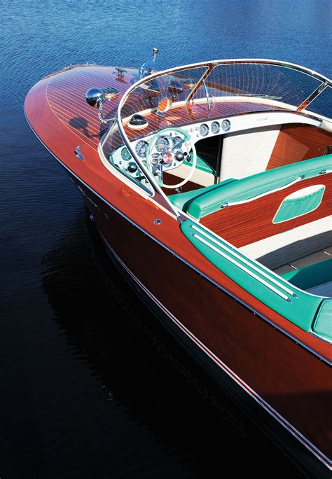 riva boats wood 1958 riva tritone quot via quot wooden boats pinterest