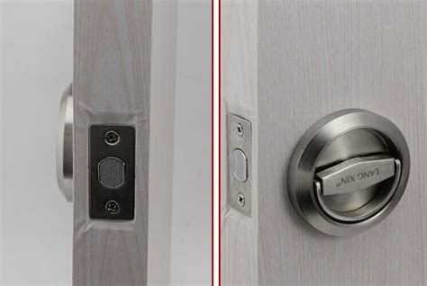 bedroom lock free shipping mechanical 304 stainless steel luxury door lock without key bathroom and toilet