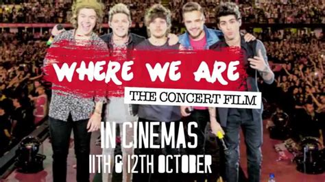 film dokumenter one direction where we are one direction where we are the concert film