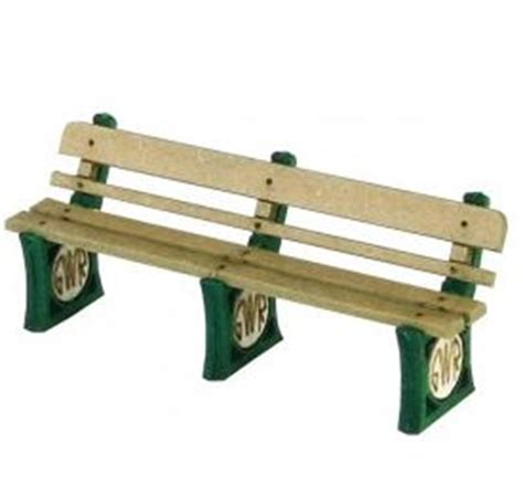 gwr benches po501 gwr benches oo gauge by metcalfe models rails of
