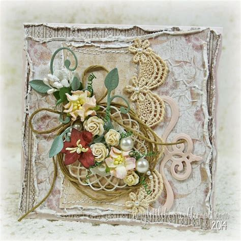 pastel shabby chic featuring maja designs patterned papers