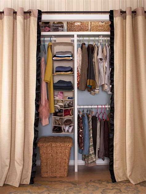 how to make a closet with curtains 202 best curtain closets images on pinterest my house