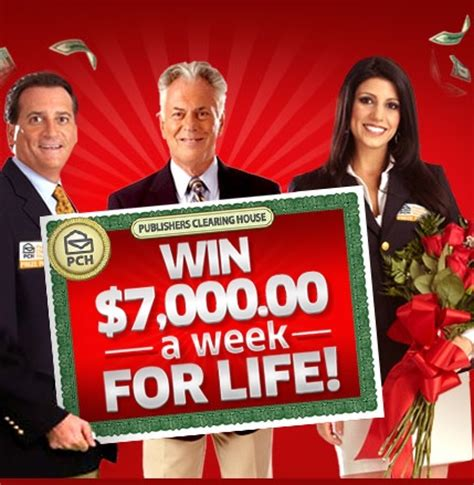 pch win 7000 a week for life sweepstakes sweeps maniac - Pch Win 7000 A Week For Life