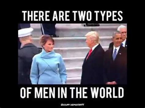 donald trump va obama | two types of men in the world