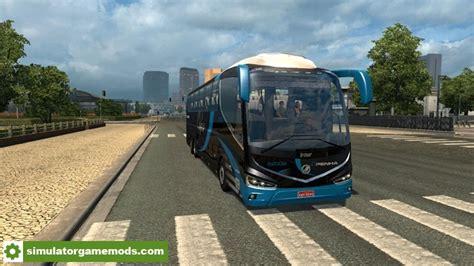 download game ets2 mod bus ets 2 irizar i8 bus mod simulator games mods download
