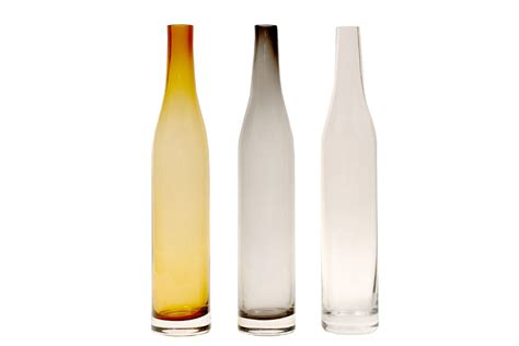 handmade glass bottles clear pr home