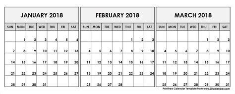 printable calendar january february 2018 february march 2018 calendar printable yspages com