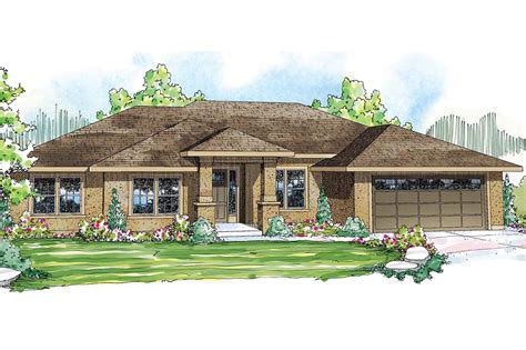 prairie style house plans arrowwood 31 051 associated