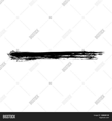 textured paint brushes grunge brush stroke vector distressed brush black