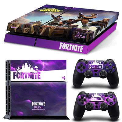 Ps4 Aufkleber Fortnite by Faceplates Decals Stickers Video Game Accessories