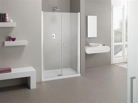 doccia doppia porta doccia nicchia a doppia anta palau
