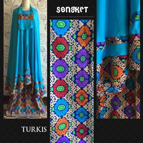 Mukena Bali Songket Jumbo mukena songket cantik mukena songket asli bali mukena