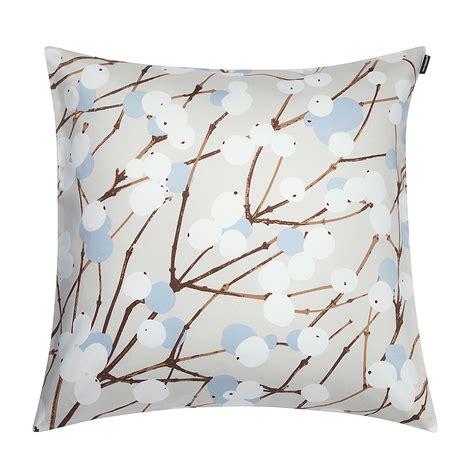 Marimekko Pillows Sale by Marimekko Lumimarja Grey Blue Throw Pillow Marimekko