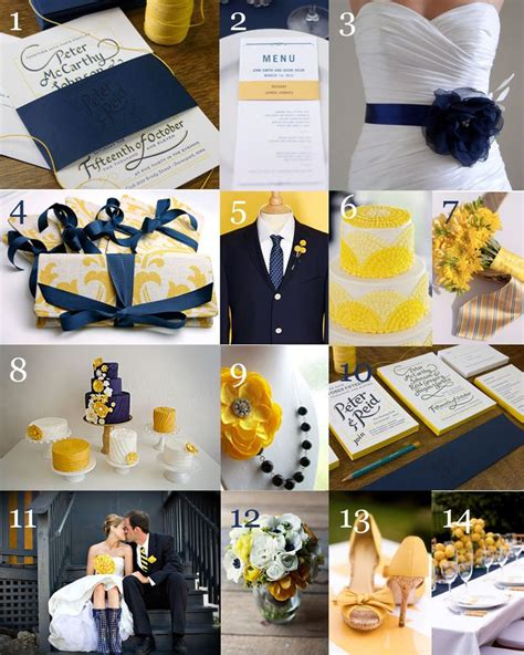 17 best ideas about navy yellow weddings on pinterest
