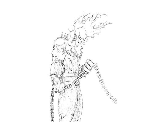 Ghost Rider Coloring Pages Games | ghost rider ghost rider sketch supertweet