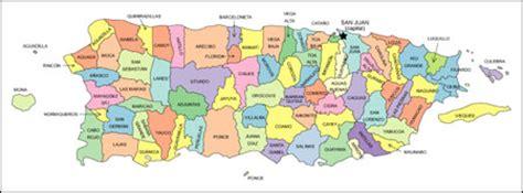 puerto rico map editable vector, illustrator and wmf