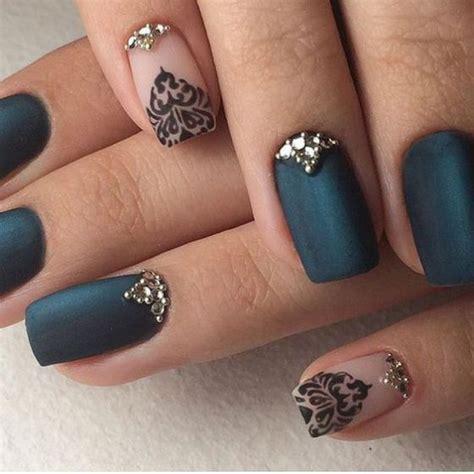 imagenes de uñas negras con azul decoracion de u 241 as los mejores 230 dise 241 os modelos y