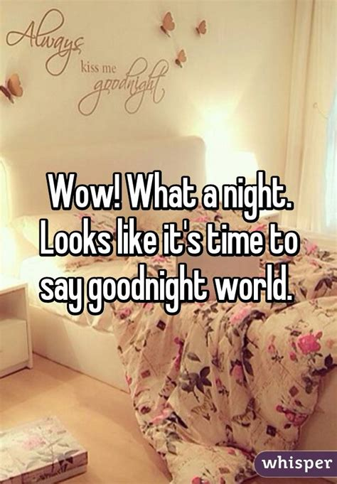 libro wow its night time wow what a night looks like it s time to say goodnight world