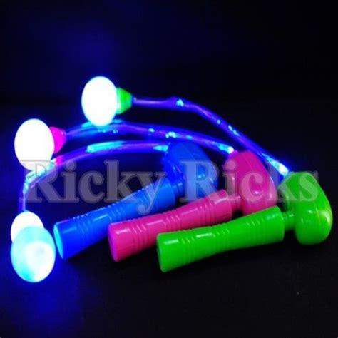 spinning led light ball light up spinning ratchet led ball fiber optic matracas
