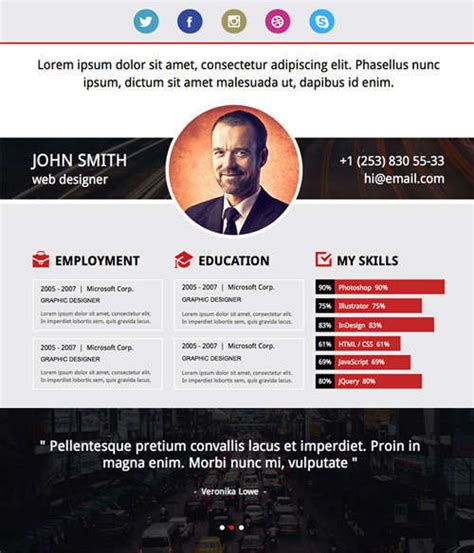 Resume Templates Muse 19 free professional resume templates 2014 idevie