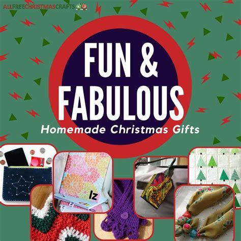 22 fun fabulous homemade christmas gifts