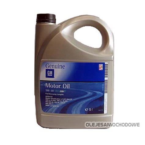 gm opel 5w30 dexos2 5l 505 01 sklep olejesamochodowe