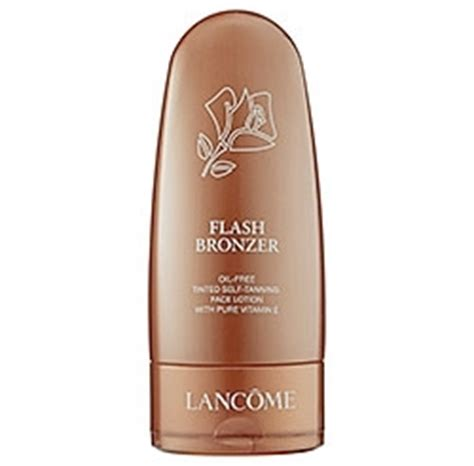 Bake Month St Tropez Tinted Self Tanning Lotion Addict by Lancome Flash Bronzer Free Tinted Self Tanning