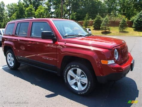 red jeep patriot deep cherry red jeep patriot images