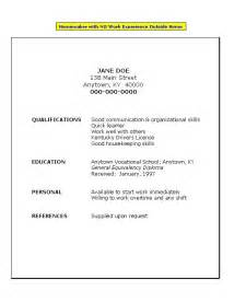 sample resume for college students with little experience 6 how to write a good resume with little experience