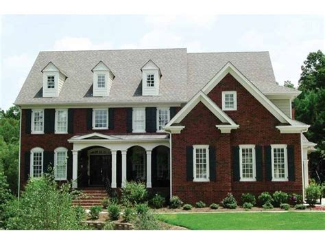 13 best home images on shutters on brick home house with white trim black
