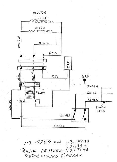 Band Saw Parts Diagram - Free Wiring Diagram