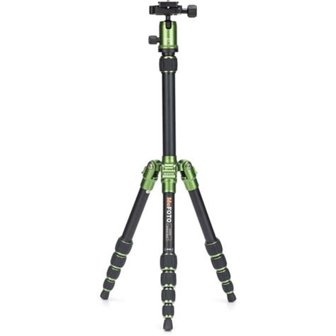 Tripod Mefoto mefoto backpacker travel tripod kit green tripod kits
