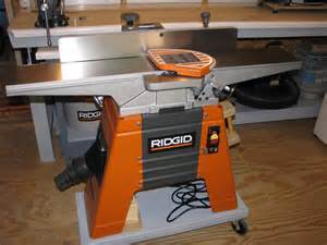 Table Jointer Review Ridgid Jp0610 Jointer Planer By Ferstler