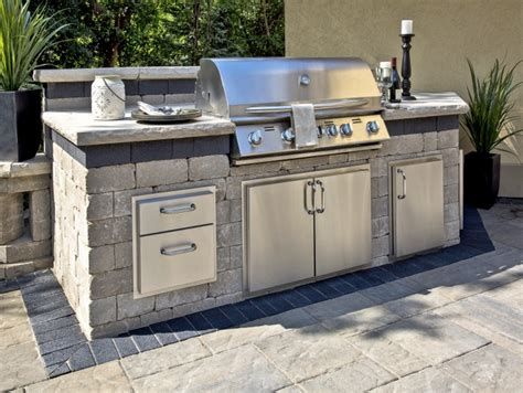 Kitchen Island Top Ideas 10 outdoor kitchen designs sure to inspire unilock