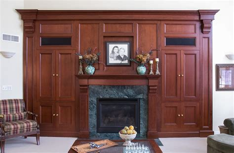 fireplace storage fireplace with hidden storage custom cabinetry by ken leech