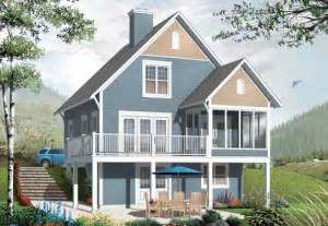 2 Story Cottage House Plans by Cottage Style House Plans 1356 Square Foot Home 2