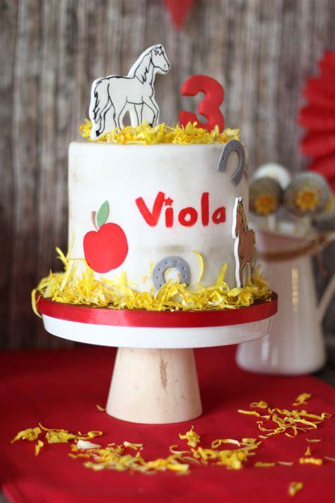 Torte Kindergeburtstag by Kindergeburtstag Bibi Und Tina Mummyandmini