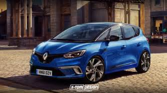 Renault Scenic Sport The Renault Scenic Gt Might Look Like This If Sports Mpvs