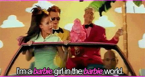 I M A Barbie Girl Meme - aqua barbie girl tumblr