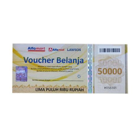 Alfamart 50k Voucher Fisik Belanja jual alfamart 50k voucher fisik belanja harga
