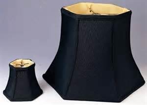 Table L Black Shade Black Hexagon Bell Silk L Shade L Shade Pro