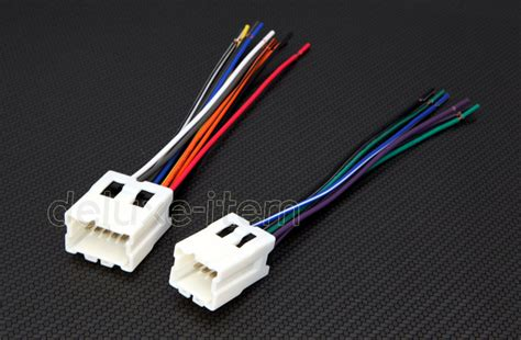 replace car stereo radio power wire wiring harness adapter  inifiniti nissan ebay