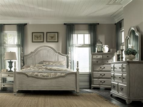 Weathered Bedroom Set by Weathered Poster Bedroom Set From Magnussen