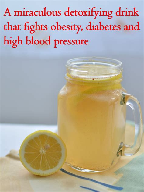 Detox Water To Lower Blood Pressure by A Miraculous Detoxifying Drink That Fights Obesity