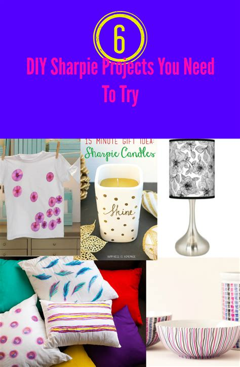 diy projects to try 6 diy sharpie projects you need to try discountqueens
