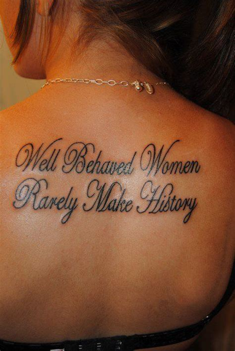 good tattoo quote fonts 40 great tattoo quotes for girls meaningful quote