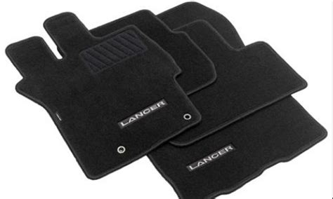Lancer Floor Mats by Lancer Accessories Mitsubishi Genuine Accessories Exterior