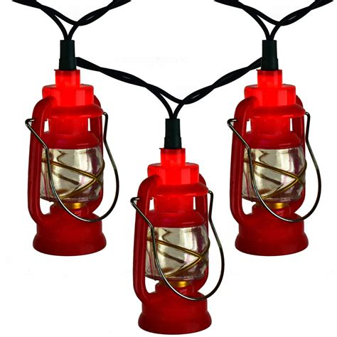 Red Prospector Lantern Party String Lights Lantern String Light